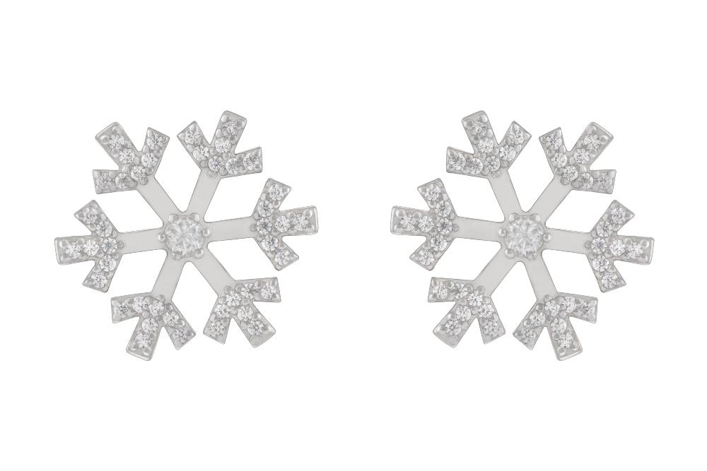 Серьги «Снежинки»